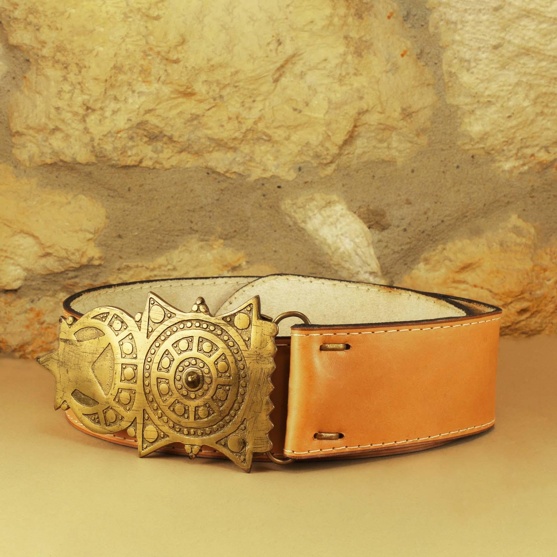 Crescent & Star Belt, 7 cm