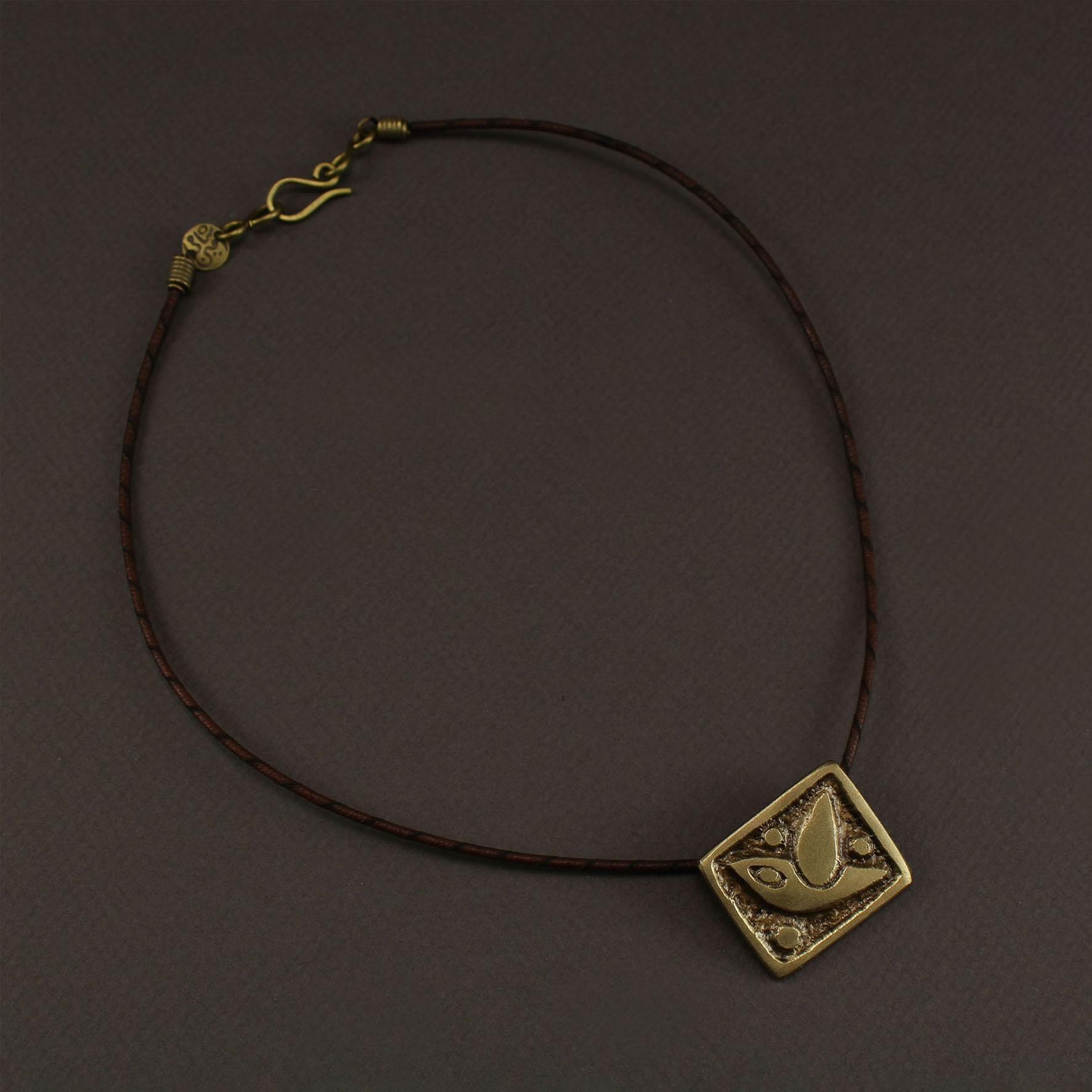"Square Pigeon ""Hur"" Necklace"