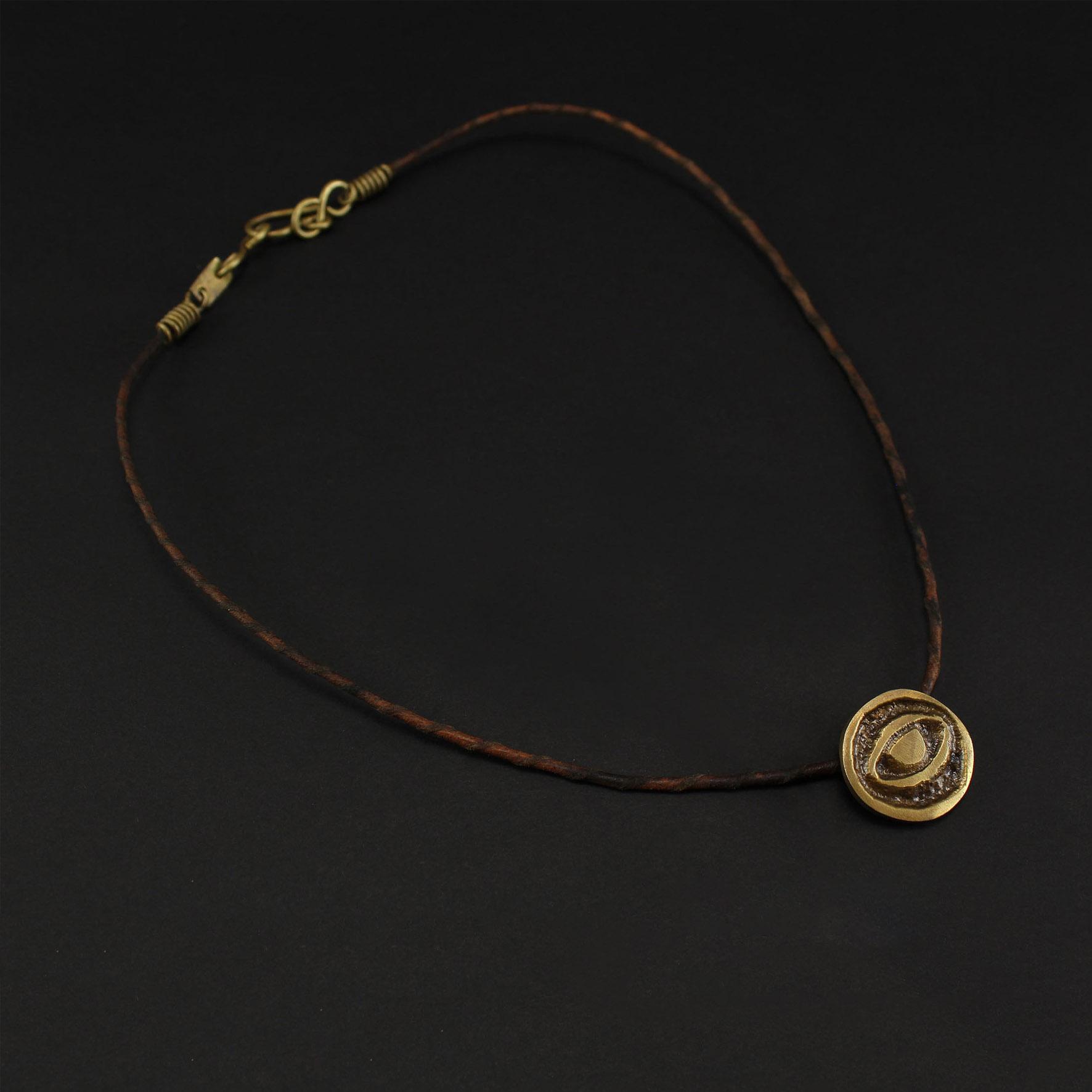 "Circle Eyes ""Hur"" Necklace"