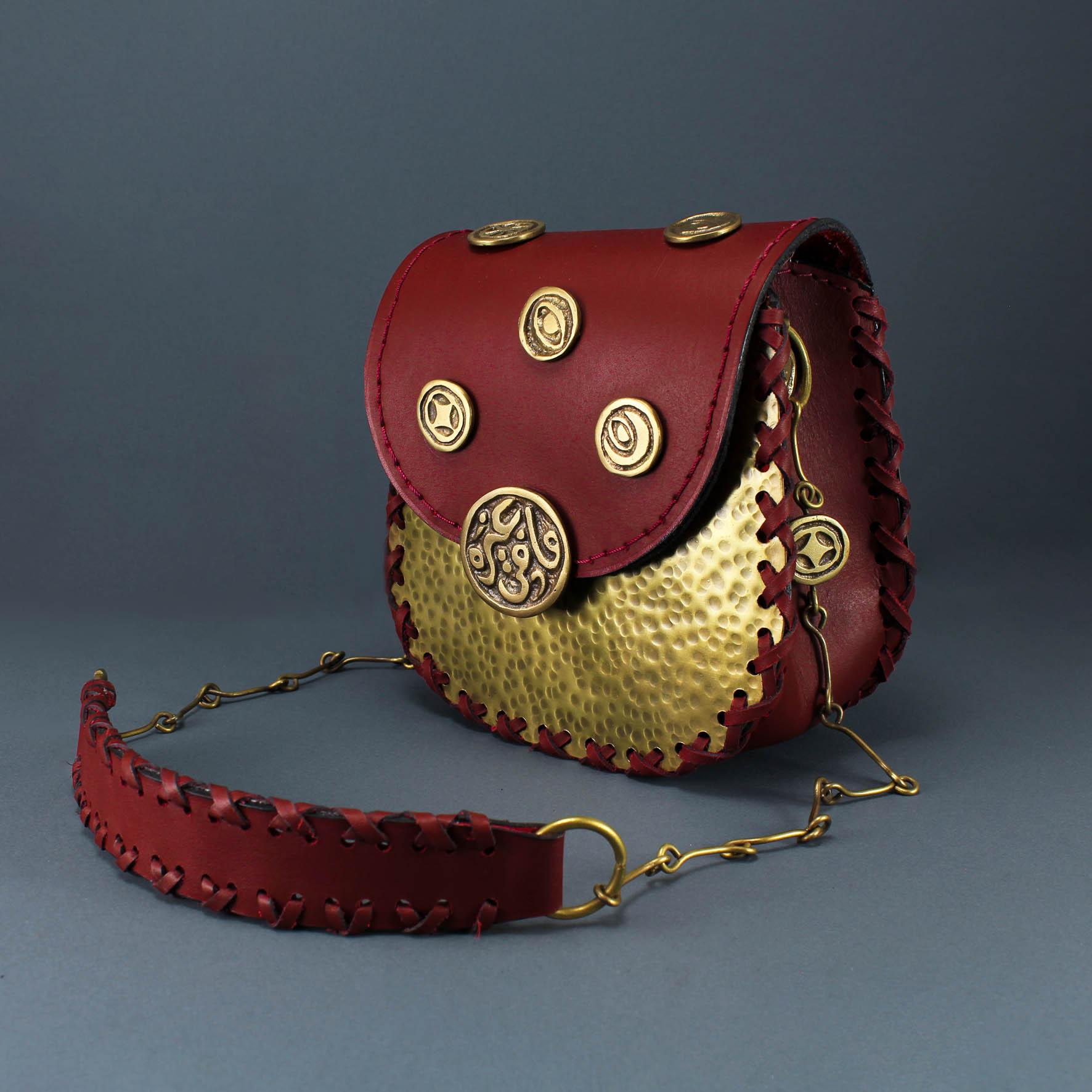Mafi Ghairo Brass Bag