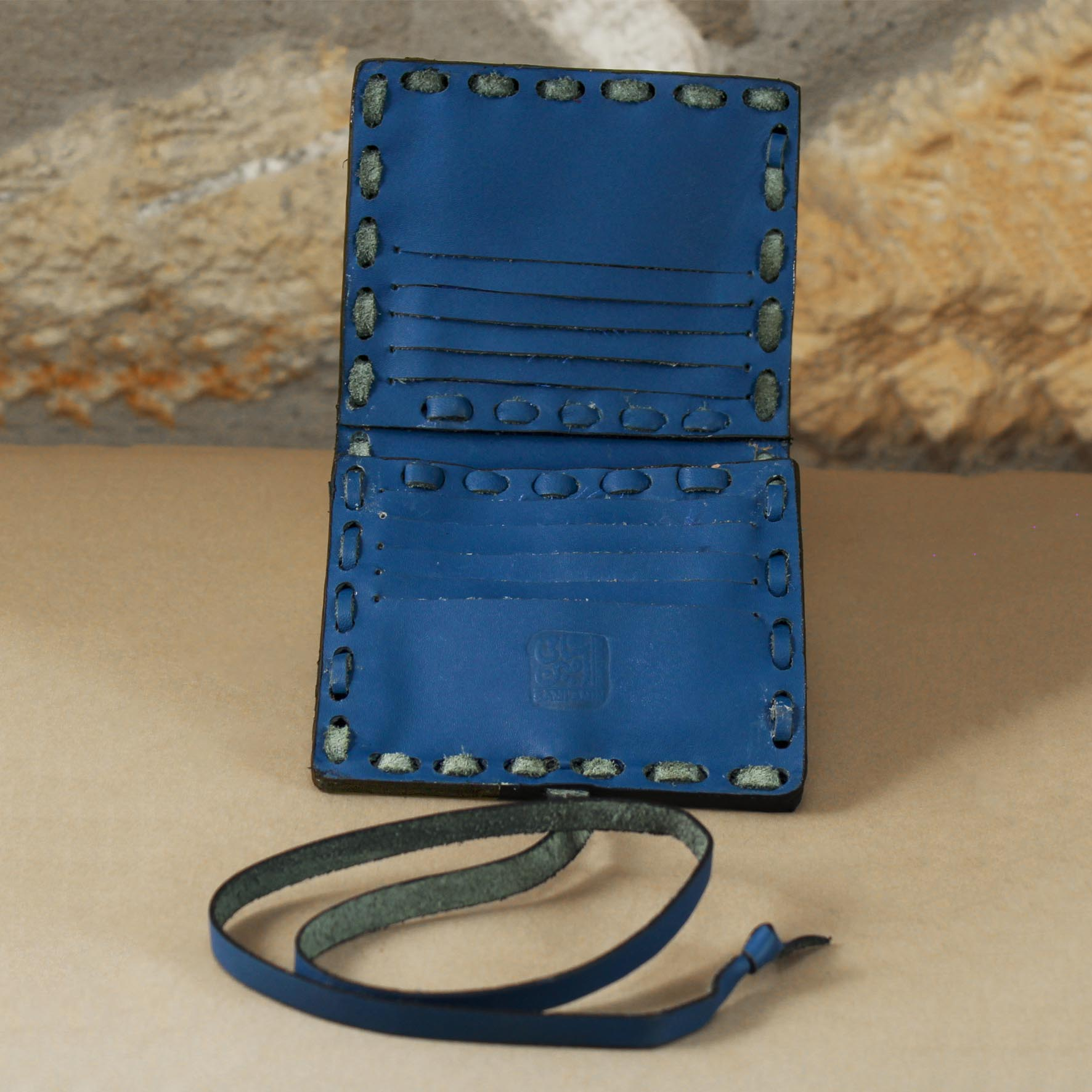Brass & Leather Cards Wallet