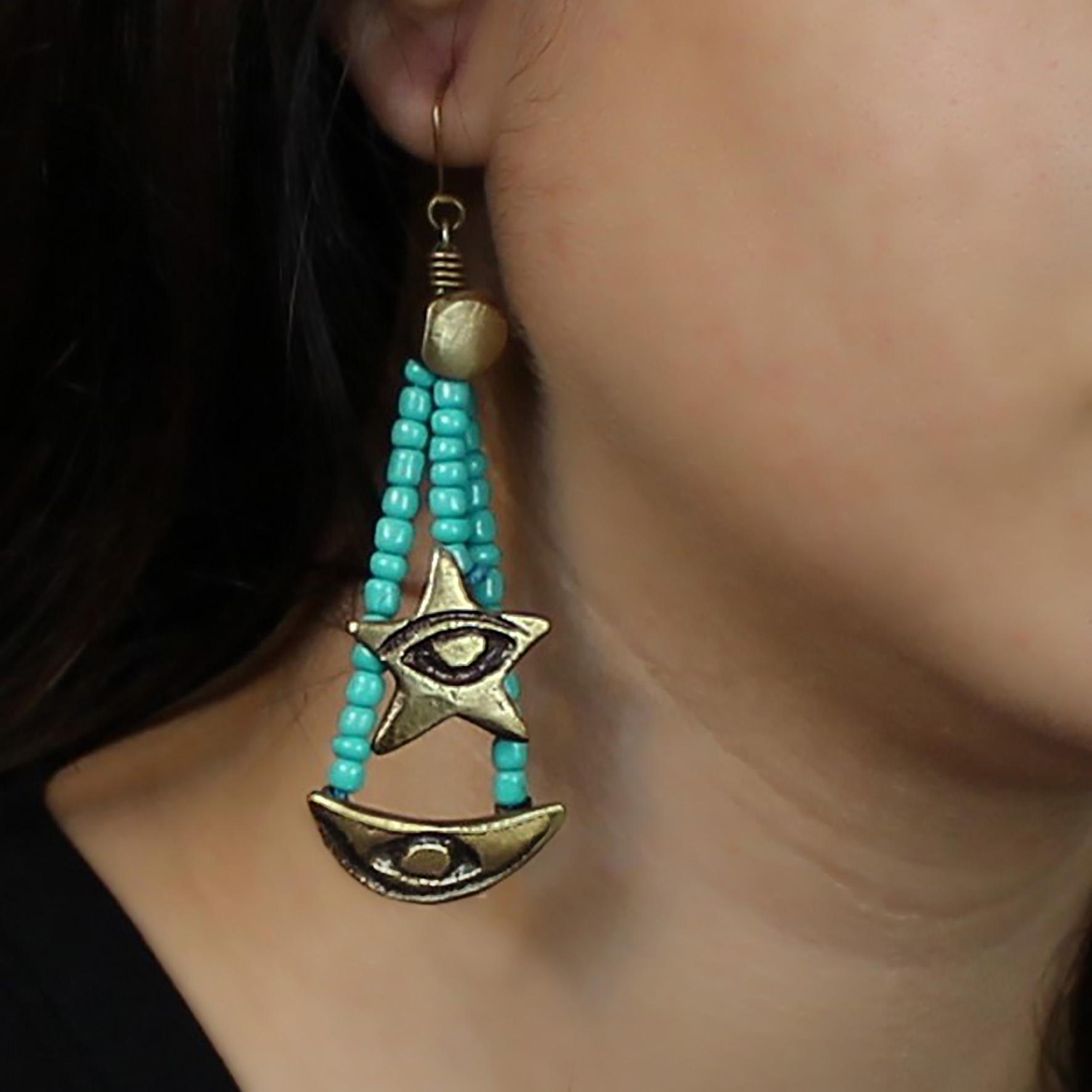 Star Censer Earring