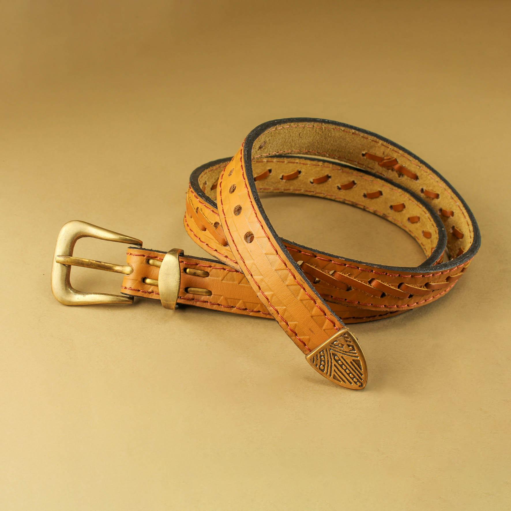 Triangular Braiding Belt, 3 cm