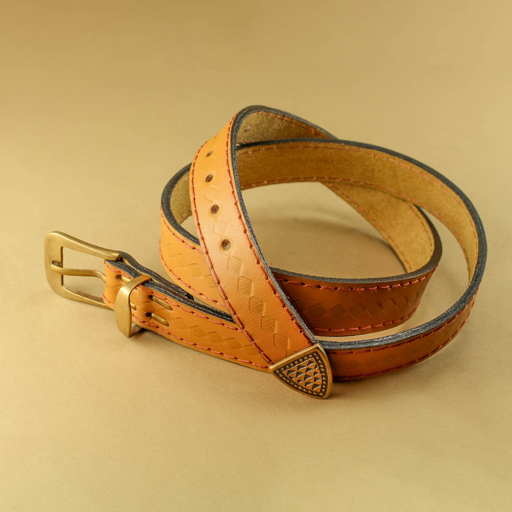 Stamped 3cm Belt